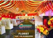 Floor decorators in patna,wedding florist designer