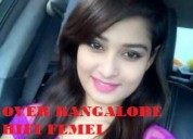 Incall / outcall- all over bangalore