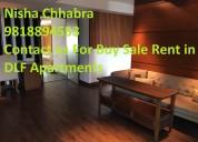 Nisha 98l8894553 dlf magnolias resale price rent