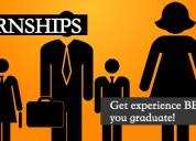 Internship program 2018-2019