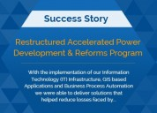 Restructured accelerated power development