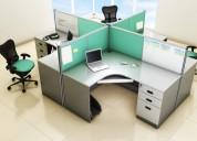 Modular office furniture in noida
