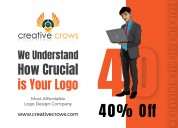 Hurry!! get 40%off today creativecrows web service