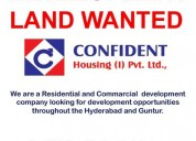 Development land wanted