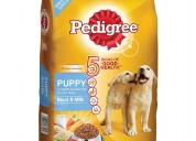 Buy pedigree puppy meat and milk 20kg dog food onl