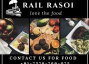 Train food delivery-rail rasoi