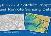 Applications of satellite imagery & remote sensing