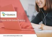 Oracle fusion scm online training