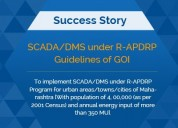 Scada/dms under r-apdrp guidelines of goi