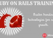 Ruby on rails online training classes - mindmajix