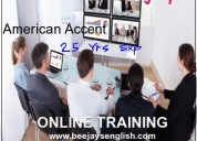 Online classes to improve american accent