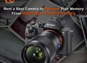 Video camera rental in hyderabad