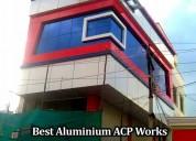 Best aluminium acp works–aluminium glazing in tiru