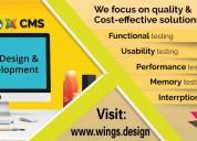 Web design company in chennai :  wings.design