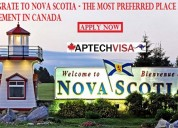 What are the nova scotia pnp process & requirement