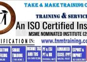 Gst(e-filing) training centre in kolkata