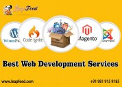 web development services -php, asp, e-commerce