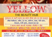 Make up artist yellow beauty parlour and salon in