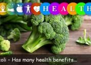 Broccoli – has many health benefits