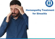 Get best sinusitis treatment with homeopathy