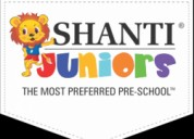 Play school franchise mumbai india shanti juniors