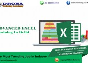 Advanced excel course in south delhi