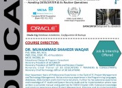 Diploma in it infrastructure, data center & oracle