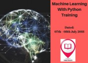 Machine learning with python training in pune,