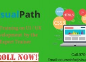Ui web designing online training institute in hyde