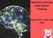 Best machine learning with python training