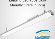 Leading led tube light manufacturers in india