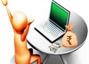 Govt registered free online works available - earn