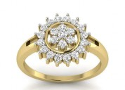 Women's engagement ring