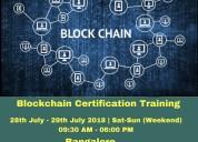 Online blockchain course bangalore