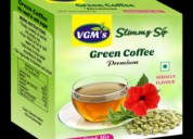 Buy green coffee, green tea with lemon, mint :vgm