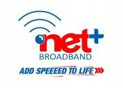 Netplus broadband internet wifi service