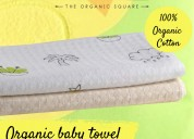 100% organic cotton towels | baby towels | kids to