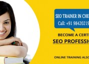 Best seo training in chennai - www.seotrainerchenn