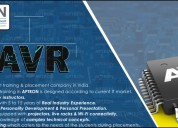 Avr microcontroller training in noida