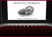 Subtitling dubbing subtitling dubbing