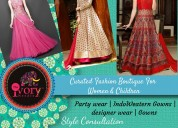 Indo western gowns, mom and daughter combo, bridal
