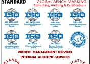 iso consultancy, auditing and certifications