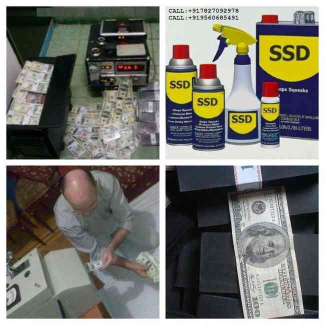 Pure Ssd Solution For Cleaning Deface Bank Note
