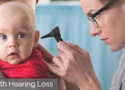 Inherited congenital deafness means born with curs