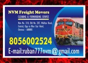 No. one nvm freight movers in chennai freight mov
