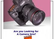 Camera lens rental hyderabad