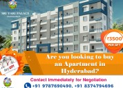 2bhk flats for sale in nizampet hyderabad