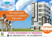 2bhk flats for sale in kukatpally hyderabad