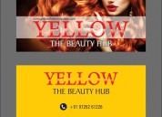 Only ledy's beauty parlour and salon - yellow the