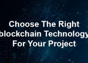 How to choose the right blockchain development com